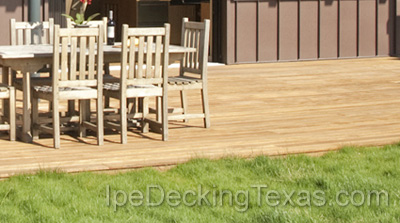 Garapa Decking Texas